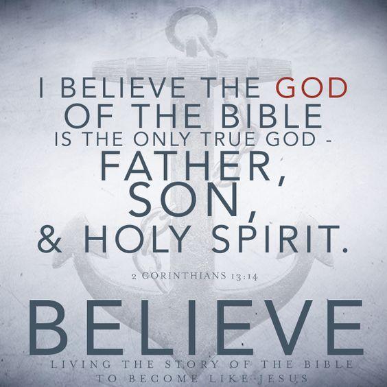 God – We Believe, Part 1