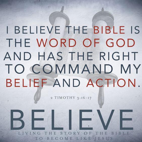 The Bible – We Believe, Part 4