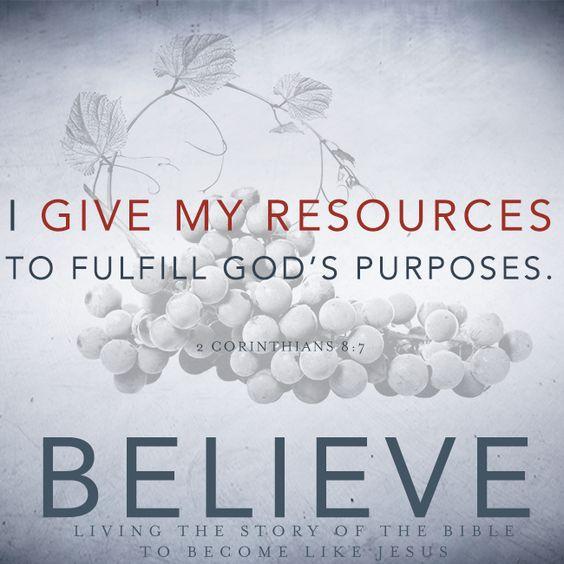 Stewardship – We Believe, Part 9