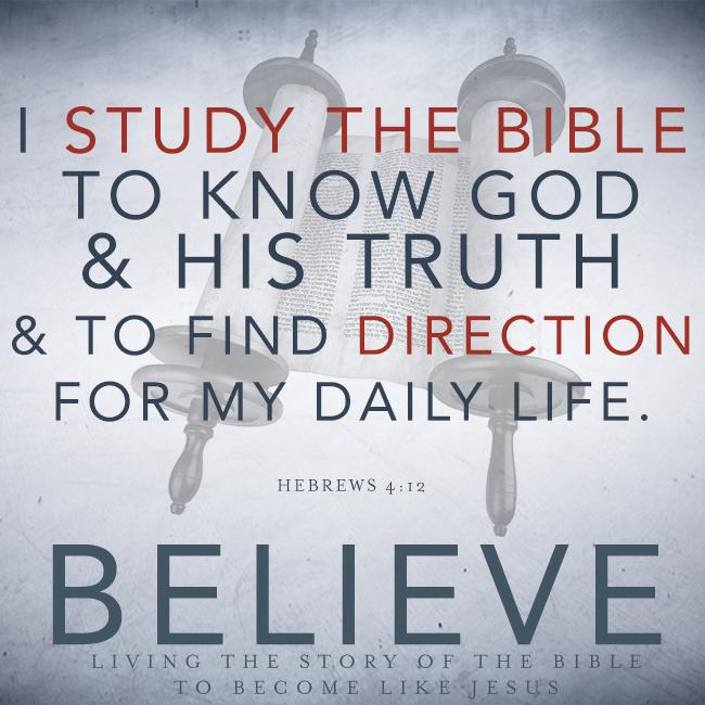 Bible Study – We Believe, Part 14