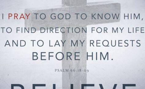 Prayer – We Believe, Part 12