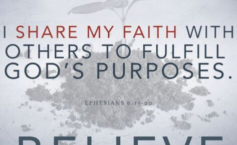 Sharing your Faith – We Believe, Part 19