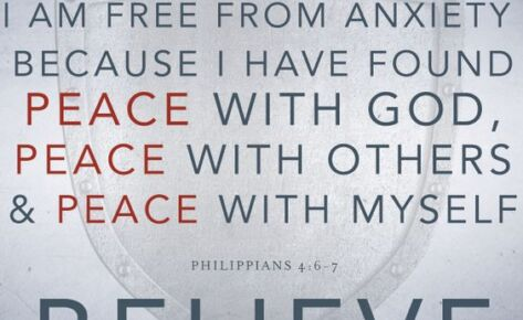 Peace, a fruit of the Spirit